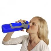 Contigo AutoSeal BPA Free Tritan Bottle with Carabiner Clip Handle & Protective Spout Cover