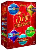 5 Fun Family Movies - Air Buddies/Snow Buddies/Space Buddies/... [Region 2]