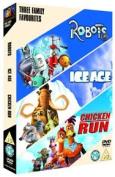 Robots/Ice Age/Chicken Run [Region 2]