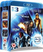 Ghost Rider/Resident Evil [Region B] [Blu-ray]