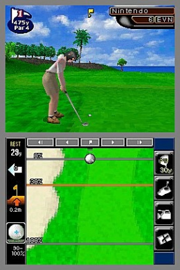 Nintendo Touch Golf (True Swing Golf)