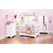 Baby Cache Heritage 4-Drawer Dresser - White