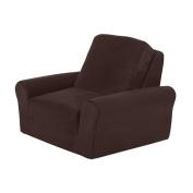 Newco International Lounge Chair, Chocolate