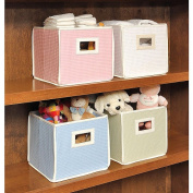 Badger Basket 00846 Folding Basket-Storage Cube- White