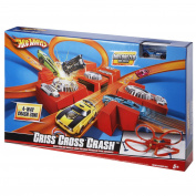Hot Wheels Criss Cross Crash Speed Car Set