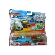 Disney / Pixar CARS Movie 155 Colour Changers 2Pack Brand New Mater Sarge
