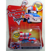 Cars Toon Character Mega Size Vehicle - Daredevil Lightning McQueen