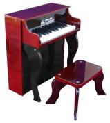Schoenhut Mahogany/Black Elite Designer Spinet Toy Piano