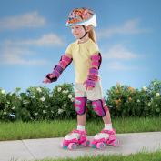 Fisher Price Grow With Me 1,2,3 Girl's Roller Skates - Pink