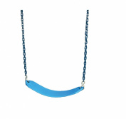 Deluxe Swing Belt with Coated Chain - Blue