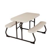 Lifetime Children's Patio Furniture 90cm - 1.3cm . x 80cm - 1.3cm . Kids Picnic Table with Benches 280094