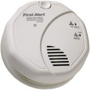 First Alert SC07CN Battery Operated Combination Smoke and Carbon Monoxide Alarm with Voice Location