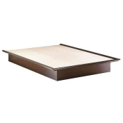South Shore Queen Size Platform Bed - Chocolate