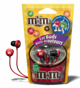 Maxell M & M'S Lightweight Earbuds - Red