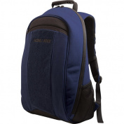 Mobile 44cm Edge Eco-Friendly Canvas Backpack, Black/Blue