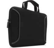 Case Logic Neoprene Laptop Sleeve Case 10-121 Inch with Carry Handles Black