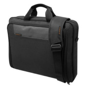 "EVERKI EKB407NCH Notebook Bag Advance Briefcase 16"" Charcoal Nylon 1000D"