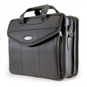 Mobile Edge Classic Herringbone ScanFast Checkpoint-Friendly Element 43cm Laptop Briefcase