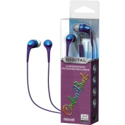 Maxell  Blue Couleur Series Ear Buds