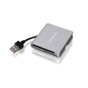 IOGEAR 50-in-1 USB 2.0 Pocket Flash Memory Card Reader/Writer GFR210