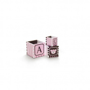 FAO Schwarz Nesting Bath Floating Blocks - Pink