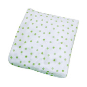 Koala Baby Bassinet Sheet - Sage Dot