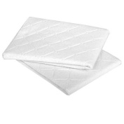 Carter's Keep Me Dry 2 Pack Quilted Multi-Use Pads - White