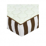 Bacati Quilted Circles Changing Pad Cover