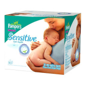 Pampers Sensitive Baby Wipes Value Box - 384 Ct.