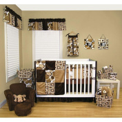 Trend Lab Geo Brown Nappy Stacker