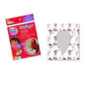 Neat Solutions Dora the Explorer Potty Topper Disposable Stick-in-Place Toilet Seat Covers
