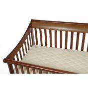 Organic Cotton Crib and Toddler Bed Mattress Pad