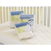 Snoozy Waterproof Playard Crib and Toddler Bed Mattress Pad