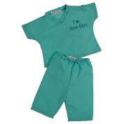 I'm New Here My First Scrubs - Lab Green