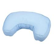 Leachco The Natural Contoured Nursing Pillow - Blue Pin Dot