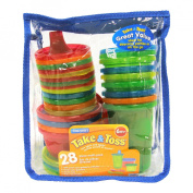 The First Years Take & Toss 28pc Variety Bag