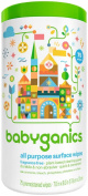 BabyGanics - All Purpose Surface Wipes The Grime Fighter Fragrance Free