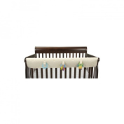 Leachco Organic Easy Teether XL - Crib Rail Cover For Convertible Cribs - Ivory