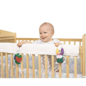 Leachco Easy Teether Crib Rail Cover - White