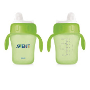 Philips AVENT BPA Free 210ml Magic Trainer Cup with Handles - Green