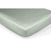 Carter's Easy-Fit Sateen Crib Fitted Sheet - Sage