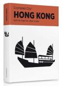 Hong Kong Crumpled City Map