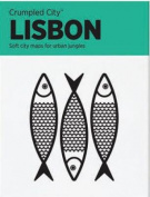 Lisbon Crumpled City Map