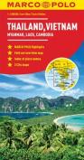 Thailand, Vietnam, Laos & Cambodia Map