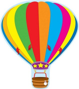 Carson Dellosa Hot Air Balloon Two-Sided Decoration