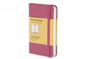 Moleskine Extra Small Magenta Ruled Notebook Hard