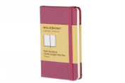 Moleskine Classic Notebook, Extra Small, Plain, Magenta, Hard Cover (2.5 x 4)