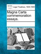 Magna Carta Commemoration Essays.