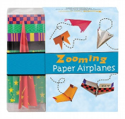 Zooming Paper Airplanes [With Paper Airplane and Paperback Book and Paper]