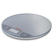 Soehnle Flip Digital Kitchen Scale, Silver, 5 kg
